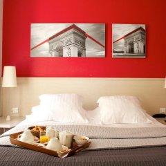 Отель Hôtel Le Richemont 3* Стандартный номер с двуспальной кроватью фото 14