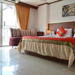 Отель Sharaya Residence Patong 3* Номер Делюкс двуспальная кровать фото 2