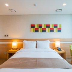 Tmark Hotel Myeongdong 3* Номер Делюкс с различными типами кроватей фото 9