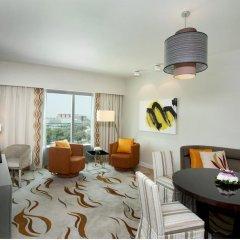 Отель Hilton Capital Grand Abu Dhabi 5* Представительский люкс с различными типами кроватей фото 2