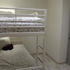 Хостел Ника-Сити Кровать в женском общем номере с двухъярусными кроватями фото 18