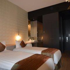 Отель Amosa Liège 3* Стандартный номер с различными типами кроватей фото 4