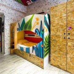 Chillout Hostel Zagreb Кровать в общем номере с двухъярусной кроватью фото 37