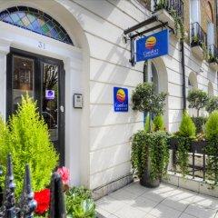 Отель Comfort Inn & Suites Kings Cross Лондон вид на фасад