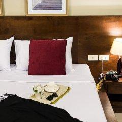 Green Leaf Hostel Номер Делюкс с двуспальной кроватью фото 4