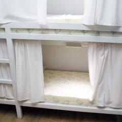 Хостел Плед на Самотёчной Кровать в общем номере с двухъярусной кроватью фото 6