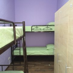 Hostel Na Mira Кровать в женском общем номере двухъярусные кровати фото 3