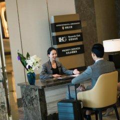 Отель InterContinental Shanghai Hongqiao NECC интерьер отеля фото 3