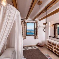 Отель Villa Lindos Muse ванная
