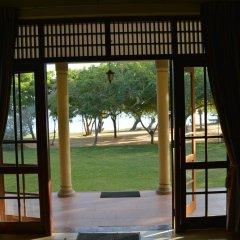 Отель Lake View Bungalow Yala балкон