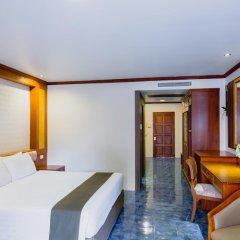 Отель Thanthip Beach Resort 3* Улучшенный номер с различными типами кроватей фото 6
