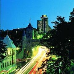 Отель Hôtel Le Concorde Québec Канада, Квебек - отзывы, цены и фото номеров - забронировать отель Hôtel Le Concorde Québec онлайн приотельная территория фото 2