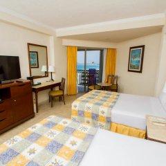 Отель GR Solaris Cancun - Все включено 5* Номер Делюкс с различными типами кроватей фото 4