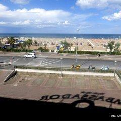 Отель Ambassador Италия, Римини - 1 отзыв об отеле, цены и фото номеров - забронировать отель Ambassador онлайн пляж