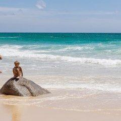 Отель Baan Rosa пляж