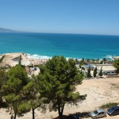 Отель Portafortuna Apartments Албания, Саранда - отзывы, цены и фото номеров - забронировать отель Portafortuna Apartments онлайн пляж фото 2