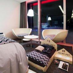 Отель W Seoul Walkerhill 5* Номер Делюкс с различными типами кроватей фото 5