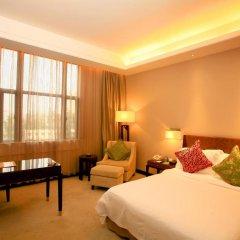 Jinjiang Nanjing Hotel 4* Номер Делюкс разные типы кроватей фото 4