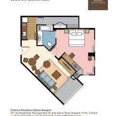 Отель Chatrium Residence Sathon Bangkok 4* Люкс повышенной комфортности фото 23