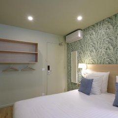 Отель Hôtel Du Centre 2* Стандартный номер с различными типами кроватей фото 12