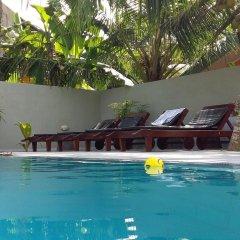 Отель Karl Holiday Bungalow Шри-Ланка, Калутара - отзывы, цены и фото номеров - забронировать отель Karl Holiday Bungalow онлайн бассейн фото 3