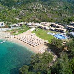 Отель Thassos Grand Resort пляж фото 5