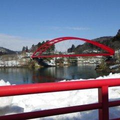 Отель Seiryu No Yado Kawachi Айдзувакамацу приотельная территория фото 2