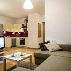 Отель Apartamenty Silver Улучшенные апартаменты с различными типами кроватей