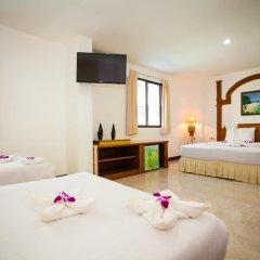 Отель Baan Paradise 2* Стандартный семейный номер с двуспальной кроватью фото 3