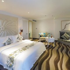 A&Em Corner Sai Gon Hotel 4* Люкс с различными типами кроватей фото 4