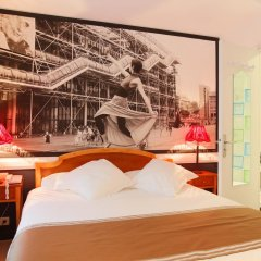 Отель Hôtel Atelier Vavin 3* Стандартный номер с различными типами кроватей фото 13