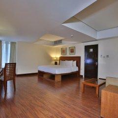 Crown Regency Hotel and Towers Cebu 4* Улучшенный номер с различными типами кроватей
