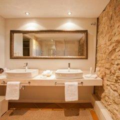 Отель La Garriga de Castelladral 4* Улучшенный номер с различными типами кроватей фото 8