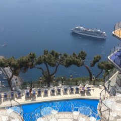 Grand Hotel Excelsior Amalfi бассейн