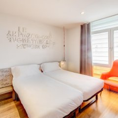 Отель Generator Barcelona Барселона комната для гостей