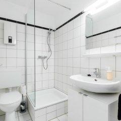 Отель Centerapartments Am Wehrhahn Германия, Дюссельдорф - отзывы, цены и фото номеров - забронировать отель Centerapartments Am Wehrhahn онлайн ванная