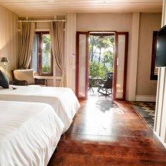 Отель Burasari Heritage Luang Prabang 4* Номер Делюкс с двуспальной кроватью фото 28