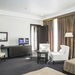Отель Амбассадор 4* Стандартный семейный номер с двуспальной кроватью фото 3