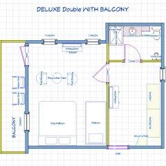 Отель Phuket Airport Suites & Lounge Bar - Club 96 Стандартный номер с двуспальной кроватью фото 5