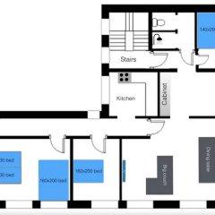 Отель Central 4 bedroom apt. for big groups спортивное сооружение