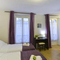 Отель Hôtel du Quai de Seine 2* Стандартный номер с различными типами кроватей фото 4