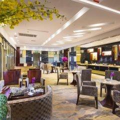 Отель Hangzhou Hua Chen International 4* Улучшенный номер с различными типами кроватей фото 14