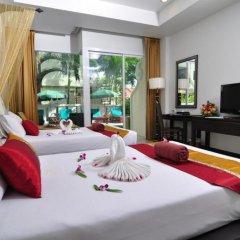 Отель Baan Karonburi Resort 4* Номер Делюкс двуспальная кровать фото 11