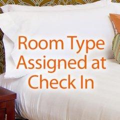 Отель Holiday Inn Club Vacations: Las Vegas at Desert Club Resort 3* Стандартный номер с различными типами кроватей фото 5