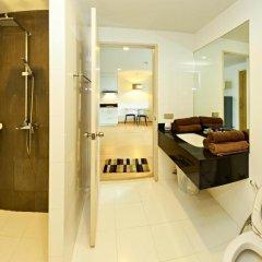 Отель The Urban City Center by MyPattayaStay ванная
