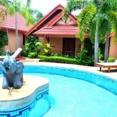 Отель Happy Elephant Resort 3* Номер Делюкс с двуспальной кроватью фото 8