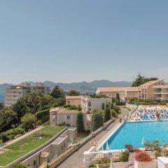 Отель Pierre & Vacances Residence Cannes Villa Francia Франция, Канны - отзывы, цены и фото номеров - забронировать отель Pierre & Vacances Residence Cannes Villa Francia онлайн бассейн фото 3