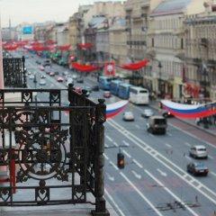 Гостиница Tabouret Rooms Nevsky в Санкт-Петербурге отзывы, цены и фото номеров - забронировать гостиницу Tabouret Rooms Nevsky онлайн Санкт-Петербург балкон
