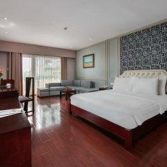 Quoc Hoa Premier Hotel 4* Люкс разные типы кроватей фото 4