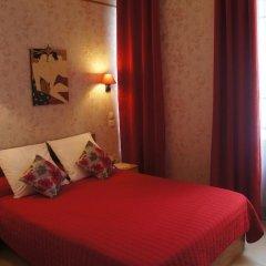 Отель Hôtel Les Chansonniers Стандартный номер с двуспальной кроватью фото 7